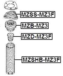 VOLVO MZB-MZ3 Technical Schematic